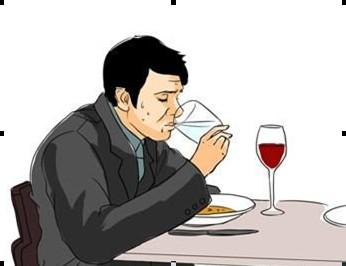 餐厅礼仪就餐姿势详解